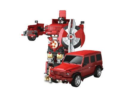 Радиоуправляемый робот-трансформер MZ Mercedes G55 1:14 2370PF - купить недорого в СПб в интернет-магазине