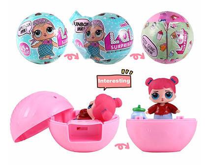 Кукла-сюрприз в шаре LOL Surprise Серия 2 6 шт - купить недорого в СПб в интернет-магазине