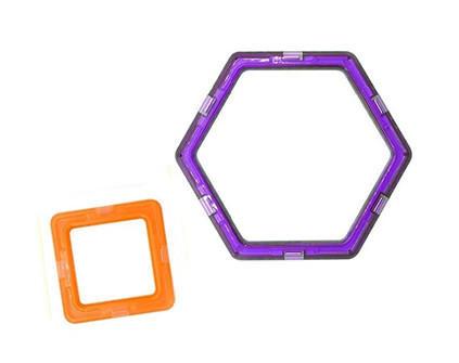 Магнитный конструктор Magnetic Blocks 8 деталей - купить недорого в СПб в интернет-магазине