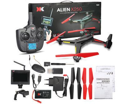 Квадрокоптер XK Alien X250, купить в СПб