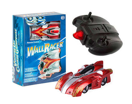 Антигравитационная машинка WALL RACER Red