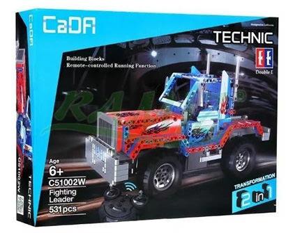 Радиоуправляемый конструктор 2 в 1 тягач/внедорожник Cada Technic C51002W - купить недорого в Санкт-Петербурге в интернет-магазине