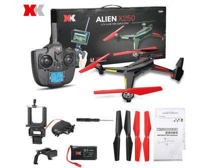Купить квадрокоптер XK Alien X250B в Санкт-Петербурге